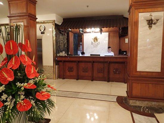 โรงแรมเฮืองเซ็น: Reception area - Huong Sen Hotel