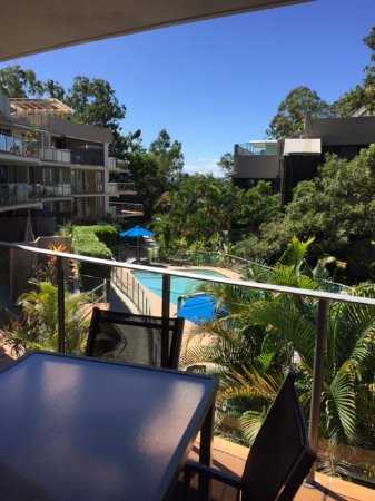 The Cove Noosa Resort: View from Unit 13