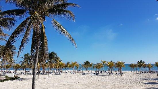 Freeport, Grand Bahama Island: Пляж как он есть просто восторг