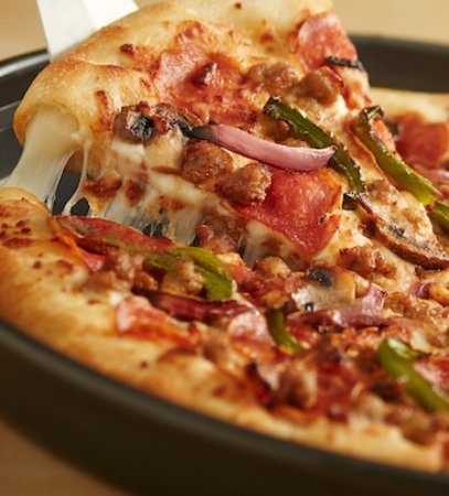 masa de pizza americana