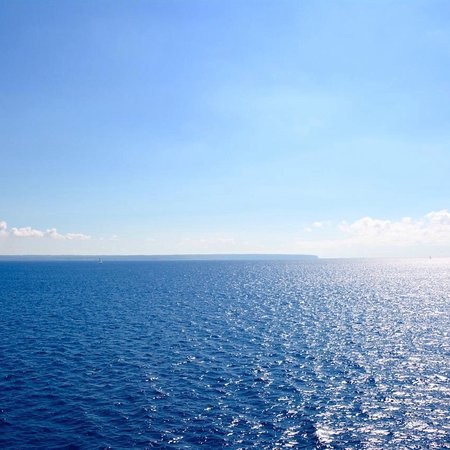 Cala Murada, İspanya: Blue Blue Blue