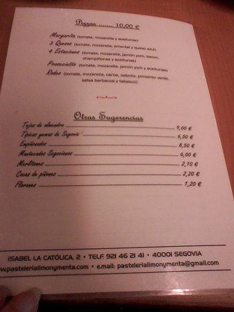 Pasteleria Limon y Menta: Carta (4)