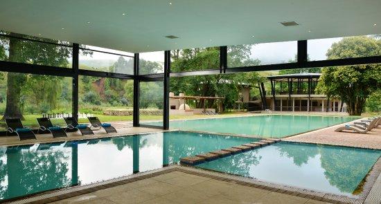 Indoor outdoor pools. Premier Resort Sani Pass - Picture of ...