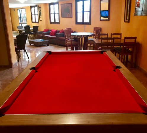 Pool Table Picture Of Hostal Atlanta El Arenal TripAdvisor - El pool table