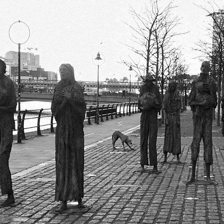 The Famine Sculptures: Famine, Dublin