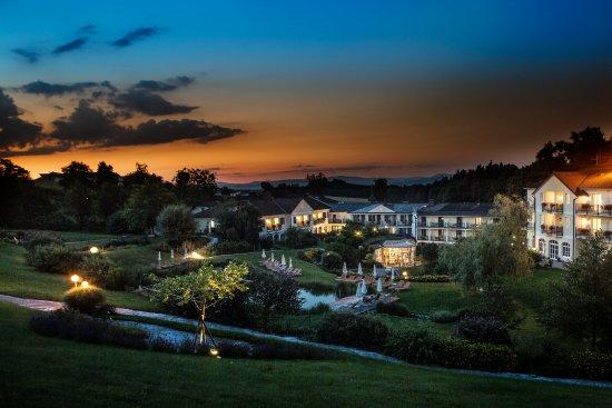 Neuhofen an der Ybbs, Áustria: Abendstimmung im RelaxResort Kothmühle
