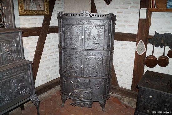 Eichenzell, Germany: dekorativer Ofen