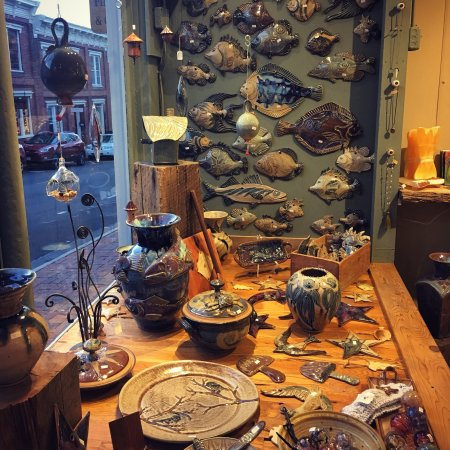 Lexington, VA: Gorgeous pottery and much more!