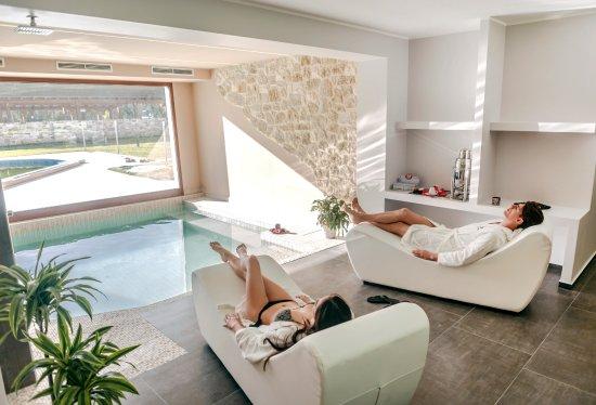 Alanno, Италия: Zona relax