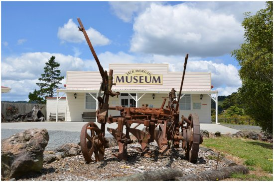 Hukerenui, Nowa Zelandia: The museum attached to the hotel