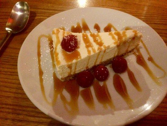 The Birdcage: White chocolate cheesecake