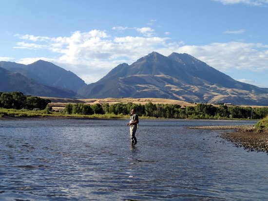 Émigrant, MT : The Yellowstone River is a short drive down the mouuntain