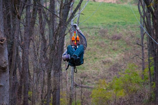 Petersburg, KY: Our advanced zip line options offer lengths up to 1700 feet, and speeds up to 40mph.