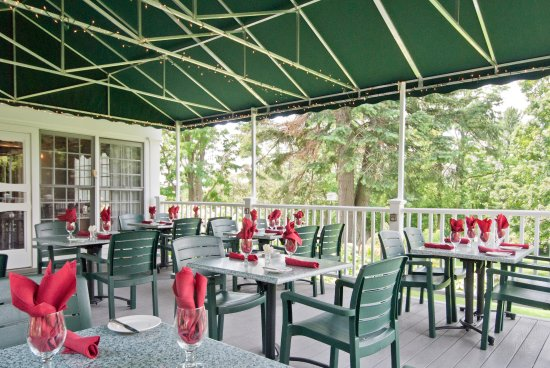 Middlebury, Vermont: Deck Dining