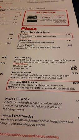 Gluten Free..... excellent!
