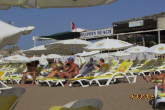 Rainbow Castle Hotel : пляж Дельфин