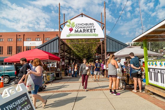 Lynchburg, VA: Busy market Saturday