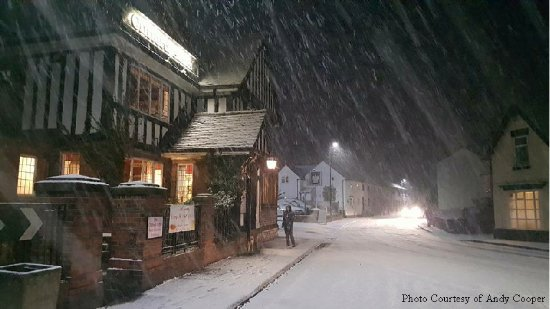 Clifford Arms: Wintry Night