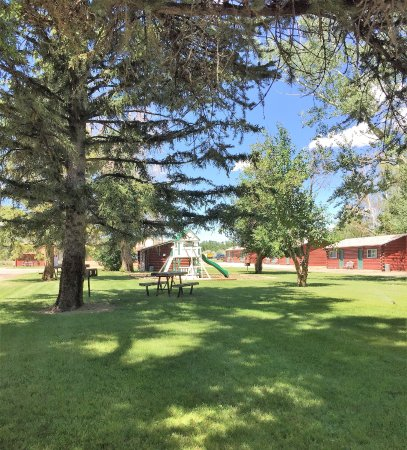 Búfalo, WY: Motel Grounds