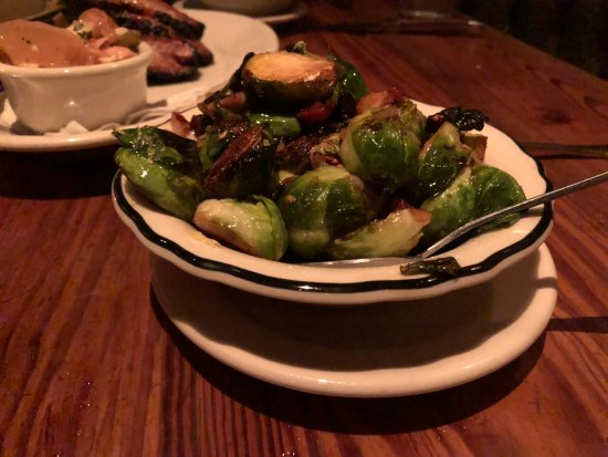 Lamberts Downtown Barbecue: brussel sprouts