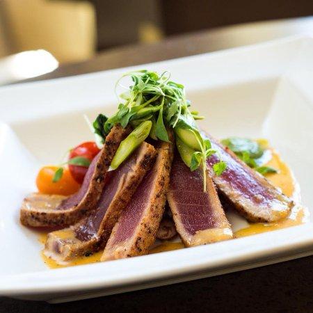Grille 3501: Gochugaru Grilled Rare Tuna
