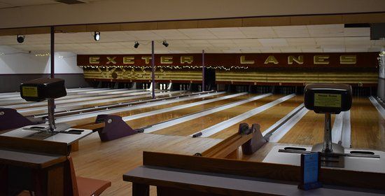Exeter, Nueva Hampshire: Bowling Lanes