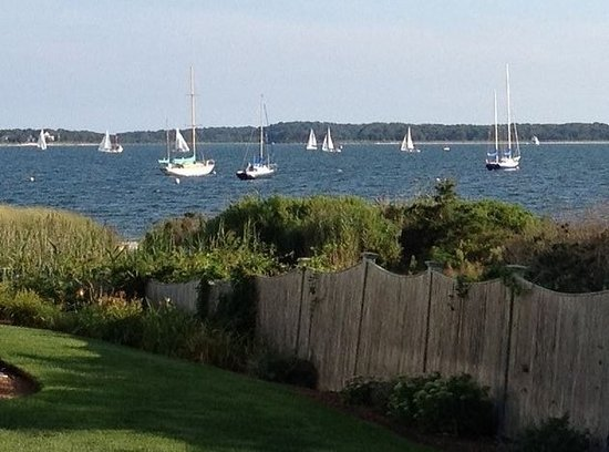 Cottage 56 deck - Picture of Green Harbor Resort, West Yarmouth - Tripadvisor