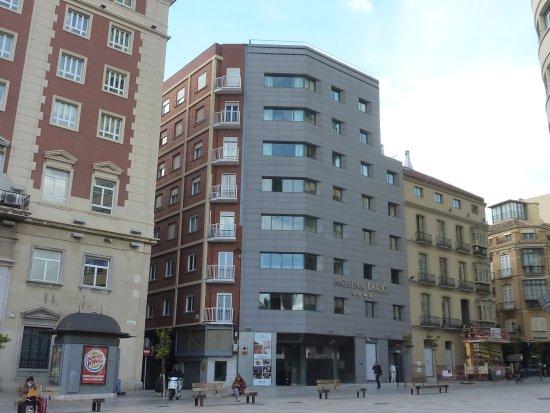 Hotel Molina Lario : Gris desafortunado