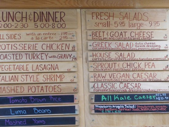 Food For Thought Naples Fl Menu