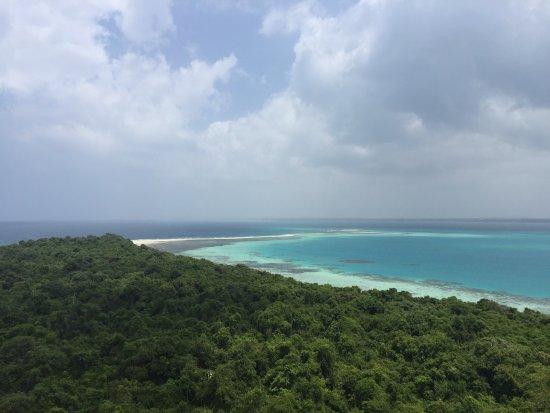Chumbe Island Coral Park: Panorama dal faro