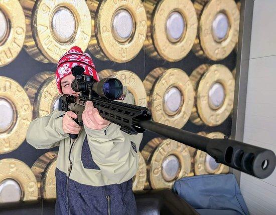 Shooting Range Liptov: Sniper rifel