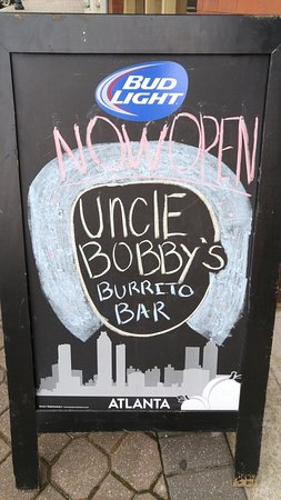 Griffin, GA: Uncle Bobby's Burrito Bar