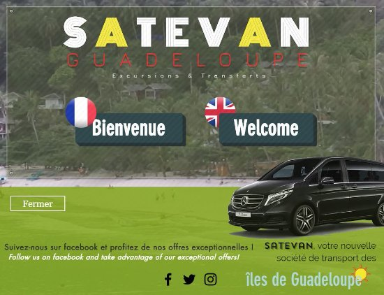Sainte-Anne, Guadeloupe: Our website front page