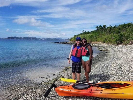 St. John USVI - snorkel & kayak