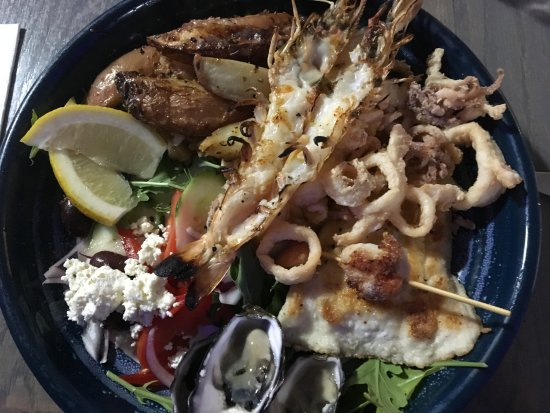 Sunago: Seafood platter