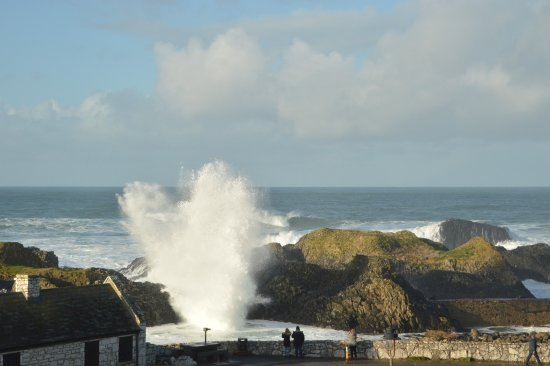 Ballintoy, UK: The power of nature
