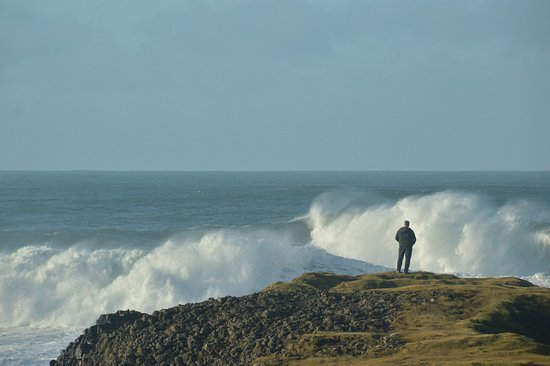 Ballintoy, UK: What on earth must a Tsunami be like?
