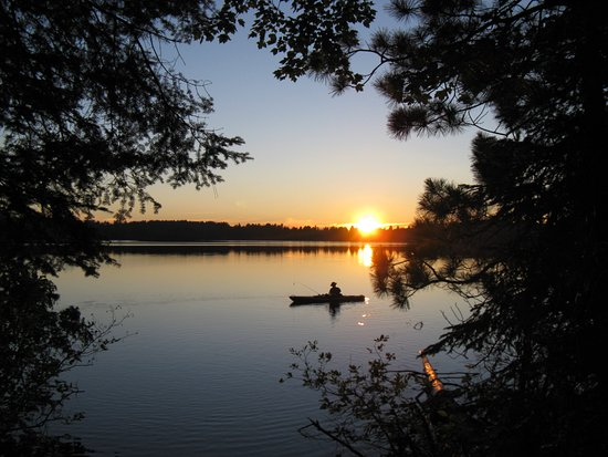 Madison, WI: Rental kayak on northern Wisconsin lake