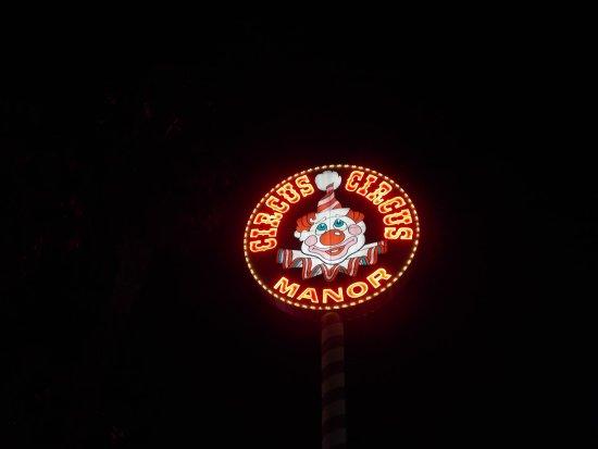 Circus Circus Manor Motor Lodge, Las Vegas Blvd. Las Vegas, NV.