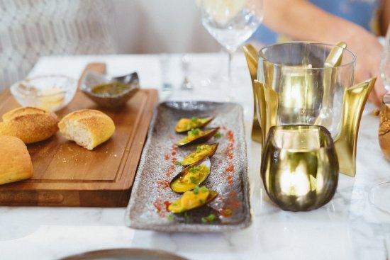 Grand Gaube: Restaurant