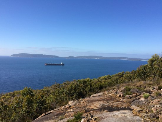 Albany, Australia: View from Mount Martin Walk Trail in Gull Rock National Park over King George sound