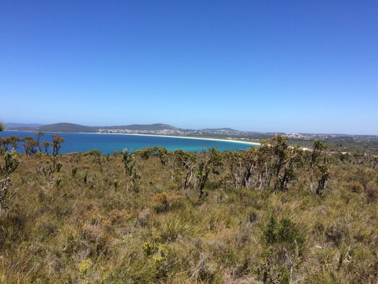Albany, Australia: View from Mount Martin Walk Trail in Gull Rock National Park over Middleton beach