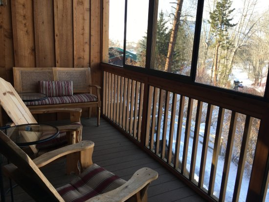 Twisp, WA: Our private deck