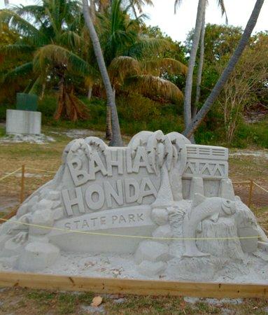 Bahia Honda State Park and Beach: Sand Castle