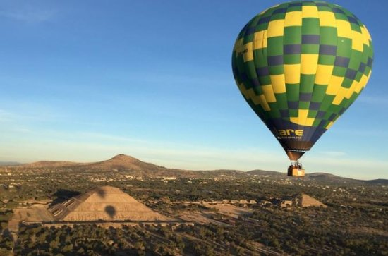 Full-Day Teotihuacan Hot Air Balloon...