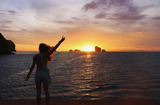Krabi 4 Island & Sunset Tour By Catamaran