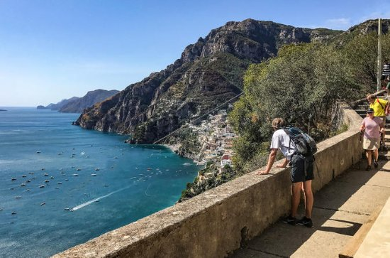 Discover the Path of the Gods private hiking tour from Amalfi...