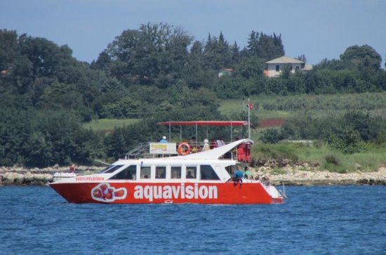 Catamarano Aquavision Glassboat
