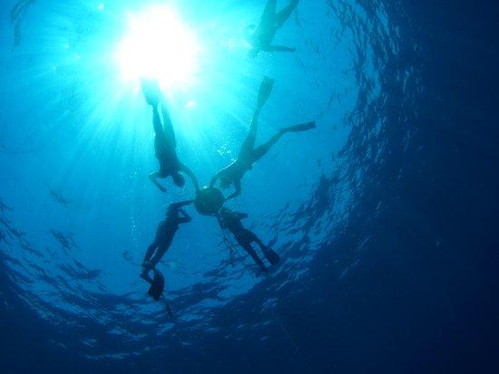Sanya, Cina: Freediving course
