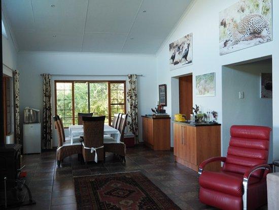 Kaapmuiden, South Africa: Main lounge dining area